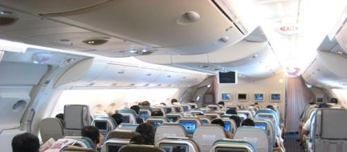 View of A380 - Upper Deck Cabin (wikimediacommons)