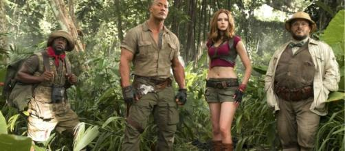 Watch a Teaser for the JUMANJI: WELCOME TO THE JUNGLE Trailer ...https://youtu.be/2QKg5SZ_35I