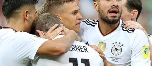 Alemania vence a México en cuartos de final