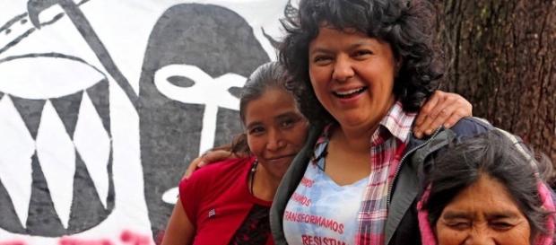 A filha de Berta Cáceres acabara de ser eleita líder do Copinh