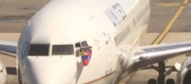 Avion de American Airline en Venezuela