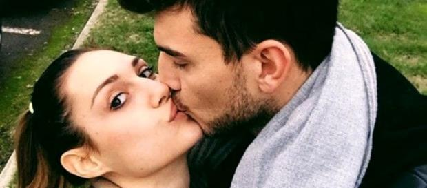 Beatrice Valli e Marco Fantini hanno festeggiato l'arrivo della piccola Bianca