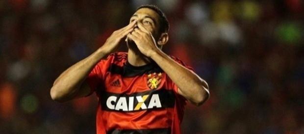 Diego Souza, camisa 10 do Sport-RE, também defende a Seleção Brasileira