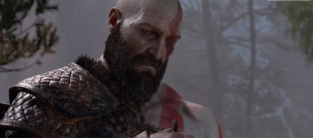 """""""God of War 4"""" is a PlayStation 4-exclusive title slated for release in early next year (via YouTube/PlayStation)"""