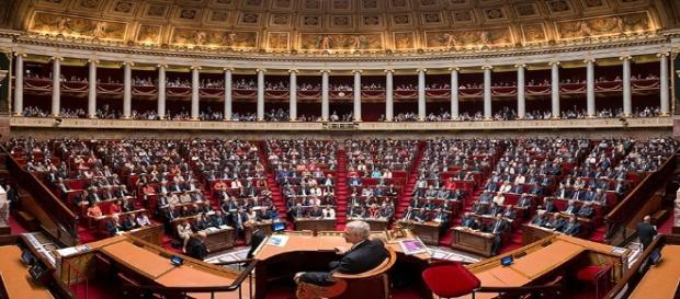 Panorama de l'hémicycle de l'Assemblée Nationale