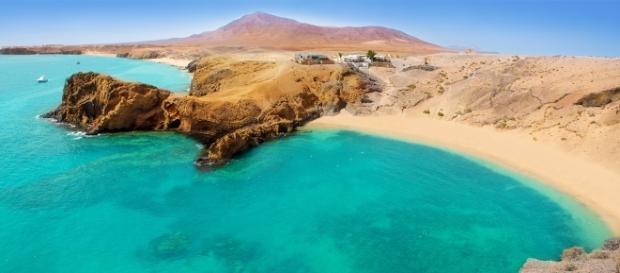 Playa del Papagayo, Lanzarote (via nuova-vita)