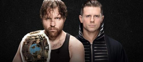 Dean Ambrose defends his Intercontinental title against The Miz at WWE's 'Extreme Rules' PPV. [Image via Blasting News image library/heavy.com]