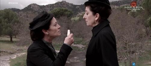 Il Segreto e Una Vita, puntata 4 giugno: Fabiana uccide Ursula