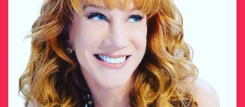 Kathy Griffin lost her CNN gig after she tweeted beheaded photo of Trump. Photo via Kathy Griffin, Twitter.