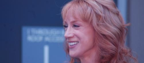 Kathy Griffin was emotional when she addressed Trump's bullying over her controversial photo. (Flickr/Sharon Graphics)