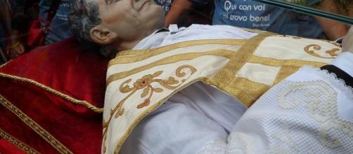 La salma di San Giovanni Bosco