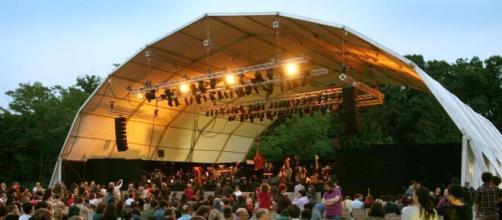 La suggestiva location ospita tantissimi eventi musicali