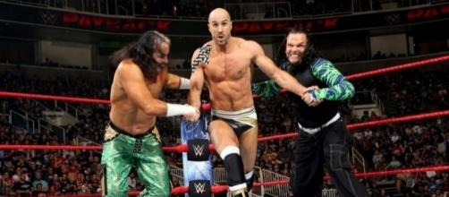 """Matt and Jeff Hardy will defend the """"Raw"""" tag titles against Cesaro and Sheamus on Sunday. [Image via Blasting News image library/inquisitr.com]"""