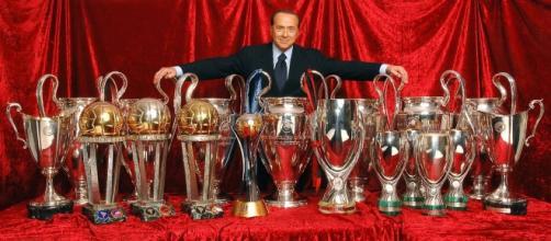 Silvio Berlusconi, politico ed ex presidente del Milan.