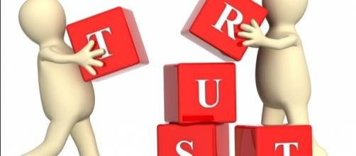 Trust is a 4-letter word that is easy to spell but is hard to earn/ Photo via: https://www.flickr.com/photos/59632563@N04/6239670686