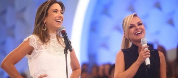 As duas apresentadoras são muito amigas