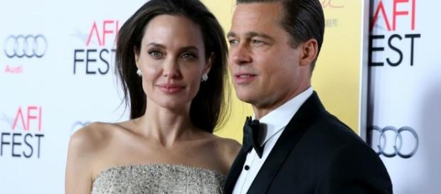 Brad Pitt and The Children With Angelina (Image Blasting News library)