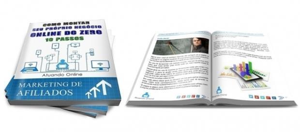 Como Montar Seu Próprio Negócio Online Do Zero – E-book Grátis.(Foto: Reprodução)