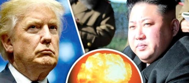 Donald Trump și Kim Jong un. Sursa foto: Daily Express