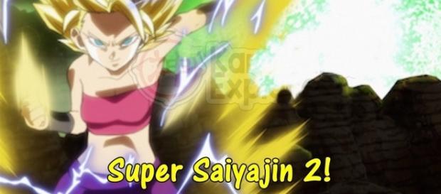 El nuevo nivel de la guerrera saiyajin