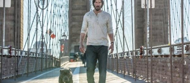 Keanu Reeves will return as John Wick for a third time - Facebook/JohnWick