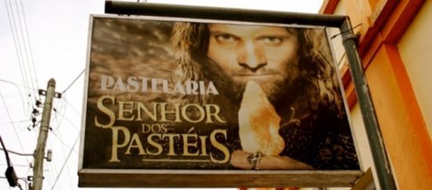Que tal almoçar no ''O Senhor dos Pastéis''? Foto:Reprodução/Twitter.