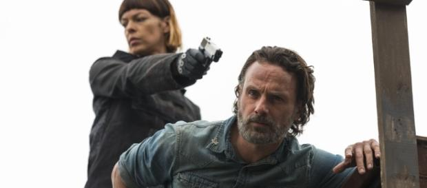 Walking Dead' screenshot shows one character who could die