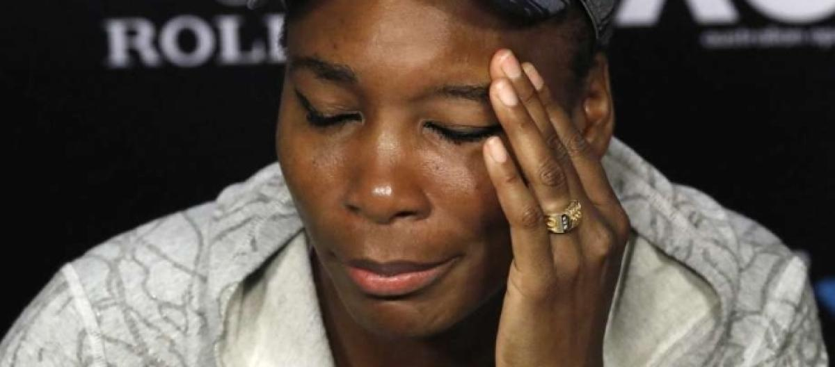 Police hold Venus Williams responsible for death in car crash
