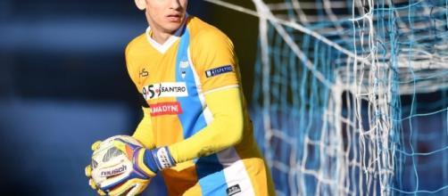 Alex Meret nella stagione appena conclusa ha giocato con la maglia della Spal - puntosportnews.it