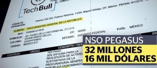 Contrato entre la PGR y TECHBULL en el que se revela el costo de pegasus (https://media22.elsiglodetorreon.com.mx)