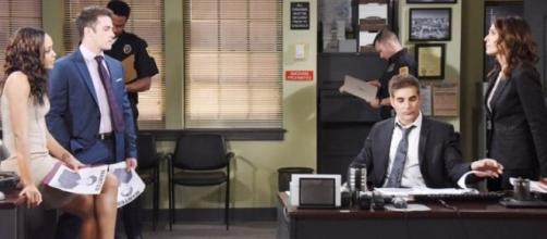 'Days of Our Lives' Friday, June 30, JJ in trouble (image via Twitter SoapOperaSpy)