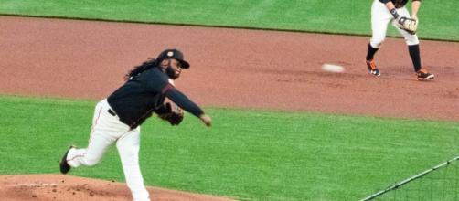 Giant's pitcher, Johnny Cueto-Flickr