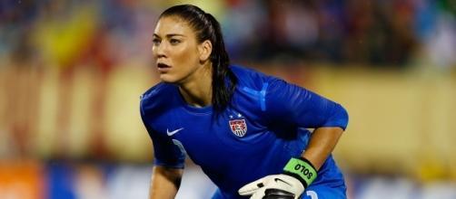 Hope Solo, autentica leggenda del calcio femminile, potrebbe giocare in Francia nella prossima stagione