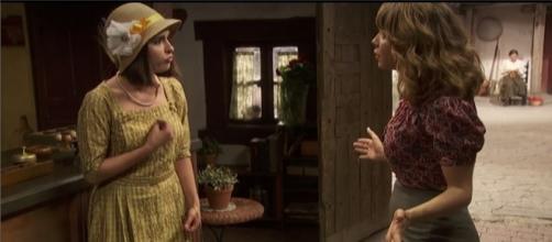 Il Segreto trame spagnole - Beatriz affronta Emilia e la minaccia.
