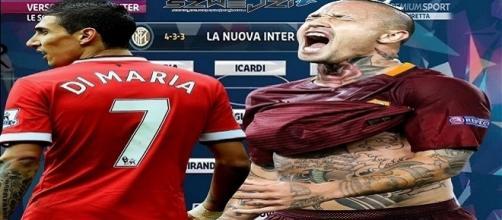 Inter, squadra stellare per Spalletti con Di Maria e Nainggolan