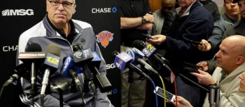 Knicks fire coach Derek Fisher; Rambis gets interim job | Sports (via youtube - usnews)