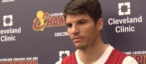 Kyle Korver - YouTube/Cleveland Cavaliers on cleveland.com