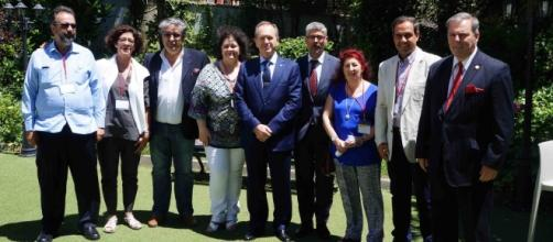 Participantes del I Pleno del VII mandato del CGCEE