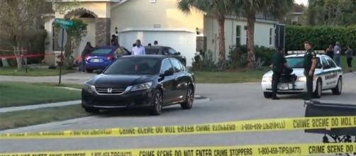 Photo Makeva Jenkins' home screen capture from Palm Beach Post video