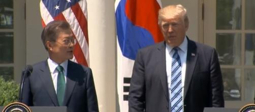 President Trump, South Korean President deliver joint statement - PBS NewsHour via YouTube (https://www.youtube.com/watch?v=ghWqp30L9LU)