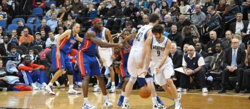 Ricky Rubio with the pick and roll | Wikimedia