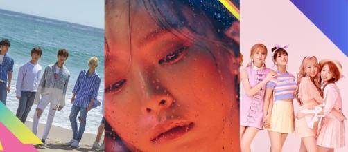 SEVENTEEN, Cosmic Girls and Heize Join KCON 2017 LA (via KCON promotions for KCON 2017 LA)