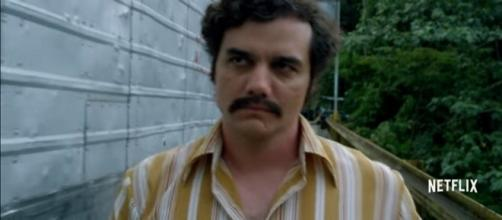 """Wagner Moura has some last words for """"Narcos"""" season 3. - YouTube/Netflix"""