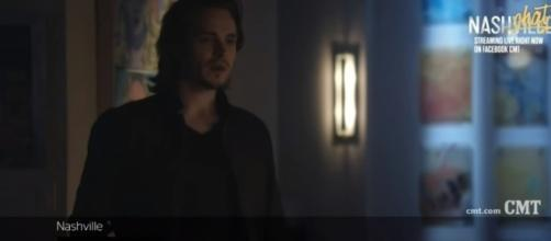What's Avery doing in 'Nashville'? [Image via screenshot from TVPromosDB]