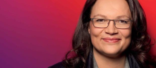 Andrea Nahles am Dienstag in Beckum - Anpacken für unsere Stadt ... - spd-warendorf.de