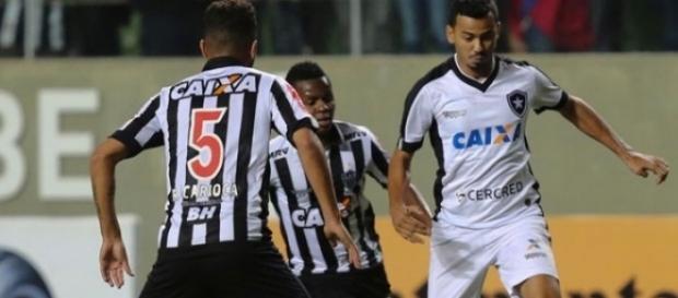 Botafogo perde para o Atlético Mineiro. ( Foto: Reprodução)