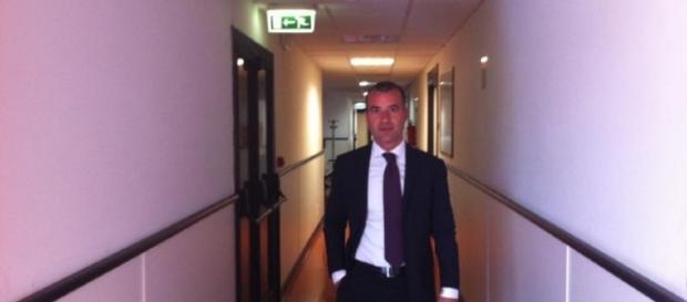 Il Presidente Onorario del Lecce: Saverio Sticchi Damiani.