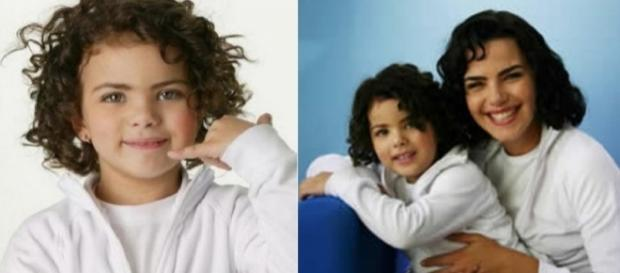 Rafaela Romulo era a sósia de Arósio nos comerciais de TV da Embratel