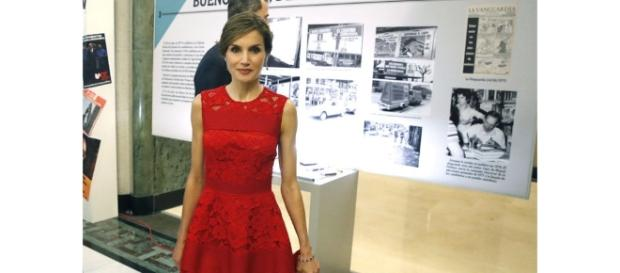 Letizia, la 'reina roja': el color favorito para celebrar 40 años ... - elespanol.com