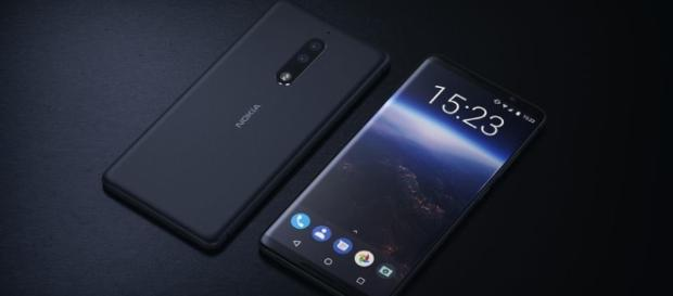 New Nokia 9 Concept Render With Bezel-less Design, Dual-Lens ... - gizmochina.com